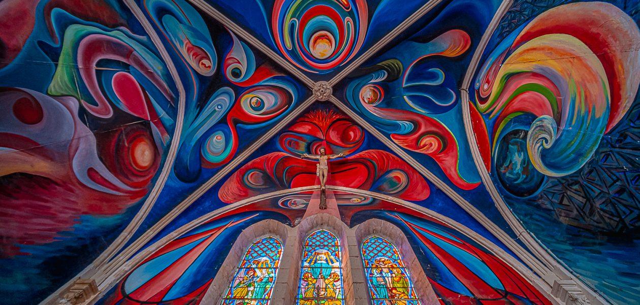 église le Menouxéglise le Menoux peinte par Jorge Carrasco